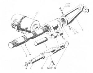 Arbeitszylinder für Kraftheber ZT