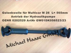 GW M26 = 0202529 L 565mm