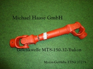 Propeller Shaft MT8-150.32 WOM MT8-150.32 Cardan MT8-150.32 Karda´ntengely MT8-150.32