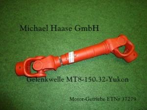 Propeller Shaft MT8-150.32 WOM MT8-150.32 Cardan MT8-150.32 Karda´ntengely MT8-150.32