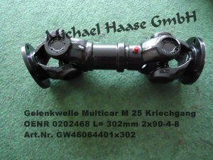 Multicar M25 L=302-1