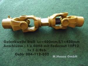004 112 032 Gelenk Stoll L 410mm-0