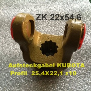 Gabel Kubota z10-2 Text