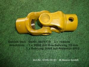 Gelenk Stoll 0619710-5104-12-01-1